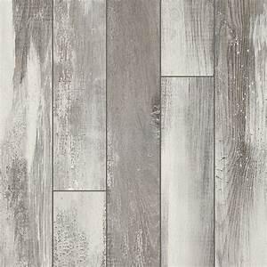 Shop Pergo Portfolio Iceland Oak Grey 5 23-in W x 3 93-ft