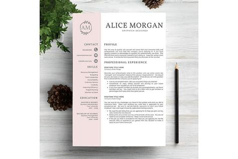 Free Resume Writing Tools by Creative Resume Template Graphic Design Tools Elements