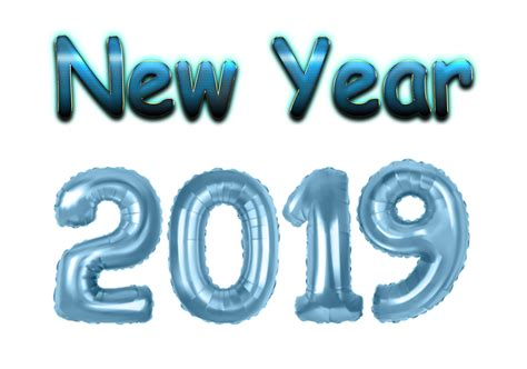 New Year 2019 Png Clipart