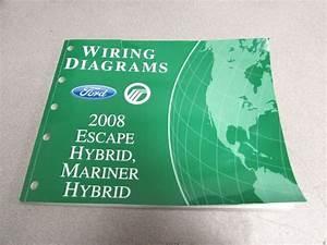 2008 Ford Escape Mariner Hybrid Wiring Diagram Service