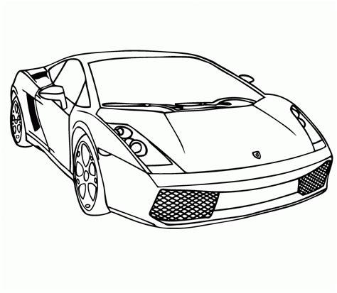 dibujos de autos de carrera  colorear colorear imagenes