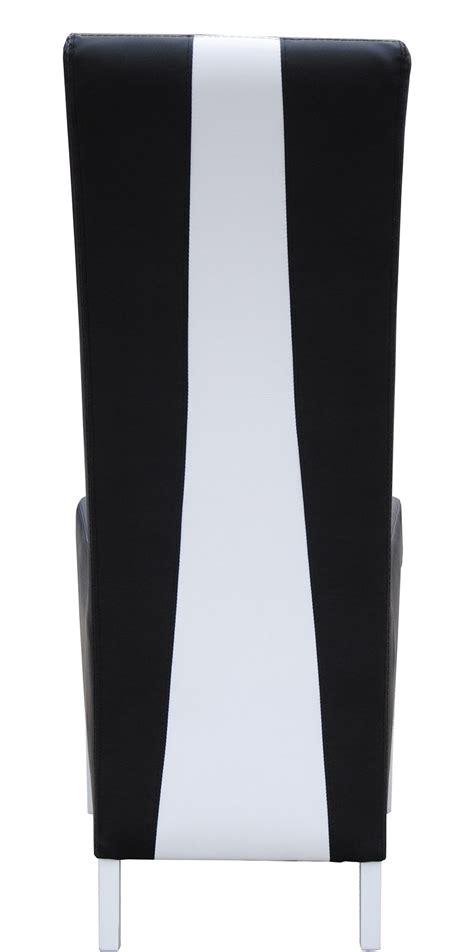chaise noir et blanc design chaise noir blanc