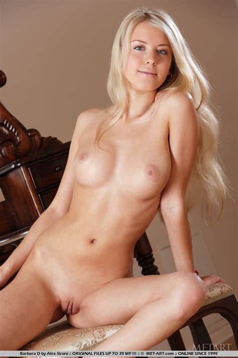 Hot Blonde Shaved Pussy