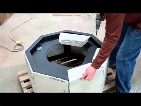 diy instructions   build  gas fire pit youtube