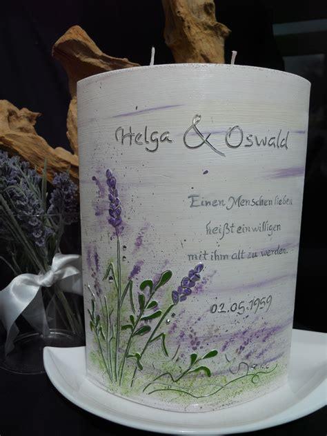 hochzeitskerze lavendel hochzeit   natur kerze