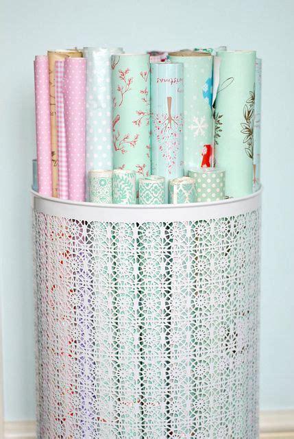 ikea aufbewahrung geschenkpapier how to organize wrapping paper einrichten wohnen