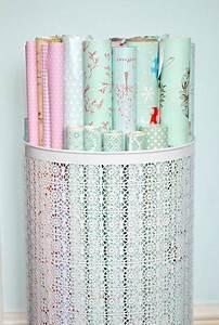 Geschenkpapier Organizer Ikea : how to organize wrapping paper einrichten wohnen aufbewahrung geschenkpapier geschenkpapier ~ Eleganceandgraceweddings.com Haus und Dekorationen