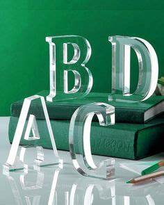zentique acrylic letter m its perfectly clear that an With decorative acrylic letters