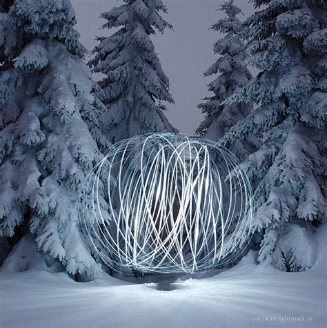 light painting and landscape photography harz germany