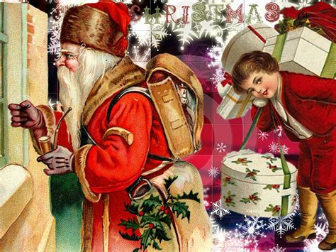 Vintage Christmas Wallpaper 2017  Grasscloth Wallpaper