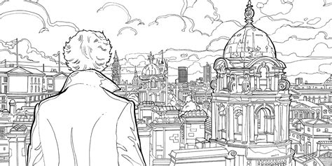 sherlock  mind palace  colouring downloads