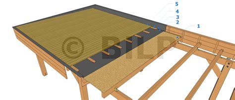 toiture 233 tanche guide de construction des carport abri