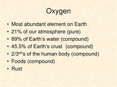 oxygen oxidation reduction ch ppt powerpoint presentation