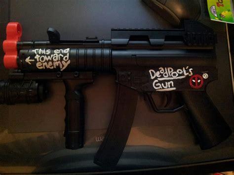 Deadpool Gun By Angelskiss2007 On Deviantart