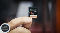 Sandisk Unveils Prototype of the World' First 1TB SD Card - YouTube