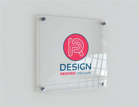 Find & download free graphic resources for screen mockups. Free Indoor Glass Signage Mockup (PSD)