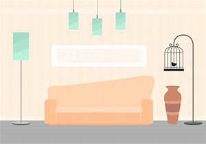 Free Living Room Vector - Download Free Vector Art, Stock