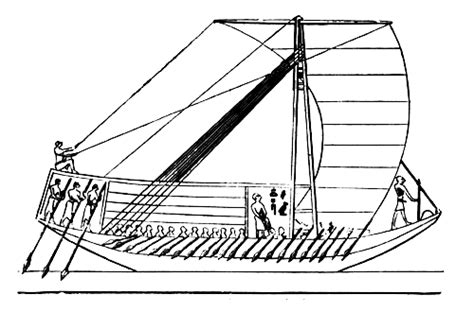 How To Draw A Ancient Boat by Ancient And Modern Ships Part I Wooden Sailing Ships By