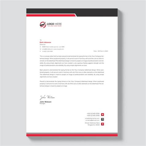letterhead template  letter head templates