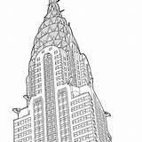 Coloring Buildings Adult Pages Places Printables Architecture Alix Print Books sketch template