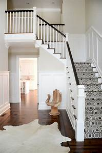 New York Patterned Carpet For Stairs Staircase