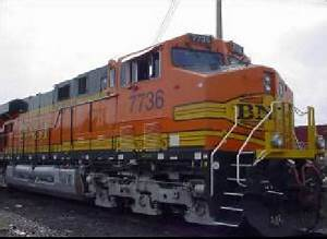 Bnsf7736 Ge Es44dc Test Locomotive