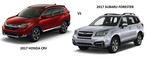 Crv Vs Subaru Forester by 2017 Subaru Forester Comparison Motavera
