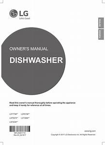 Lg Ldf5545st  00 User Manual Dishwasher Manuals And Guides