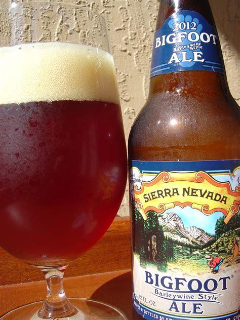 Daily Beer Review: Bigfoot Barleywine Style Ale 2012