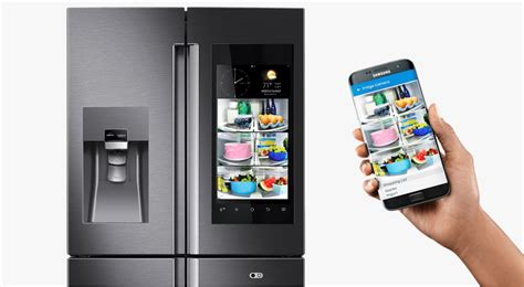Le Frigo Connecté à Internet: Le Réfrigérateur Samsung