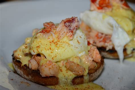 Lobster Dish Of The Day—lobster Eggs Benedict At Kitchen