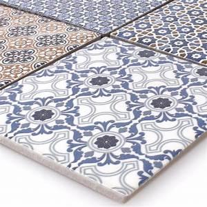 Mosaik Fliesen Blau : keramik mosaik fliesen zement optik classico ebay ~ Michelbontemps.com Haus und Dekorationen