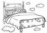 Beds Bunk Coloring Template sketch template