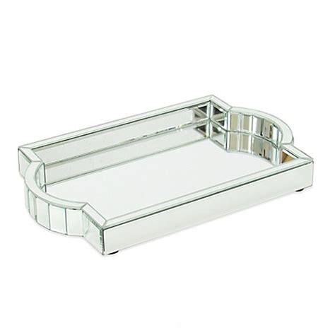 Wayborn Crystal Cut Mirrored Vanity Tray  Bed Bath & Beyond