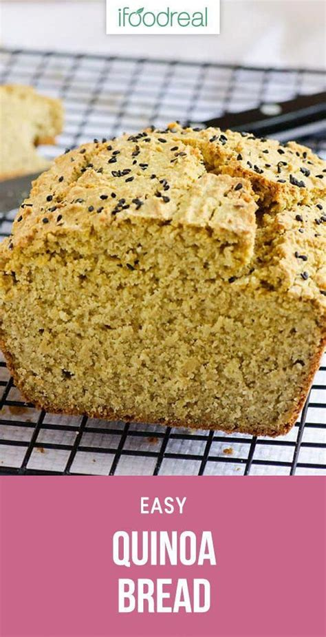 It is obvious and obvious that a bread maker is created to make bread easy at home. Light Keto Bread Recipe #EasyKetoBreadRecipe in 2020 | Quinoa bread, Gluten free recipes bread, Food