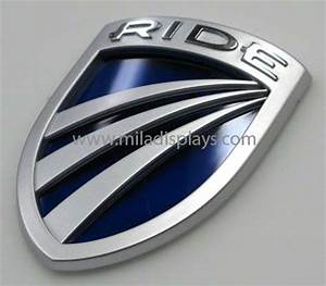 Automotive nameplates automotive emblems chrome badging for Custom car badge lettering