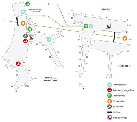 sydney  domestic airport guide qantas
