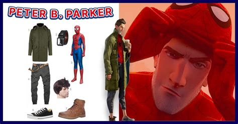 dress  peter  parker   spider verse costume