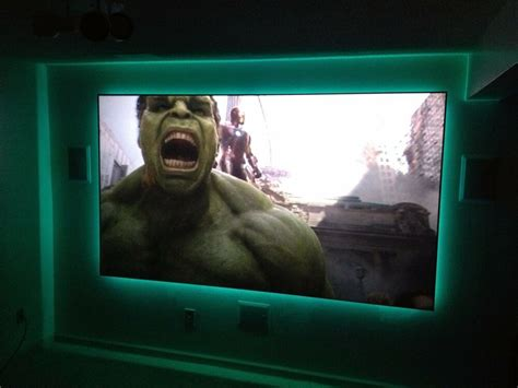 diy projection real projector screen fabric