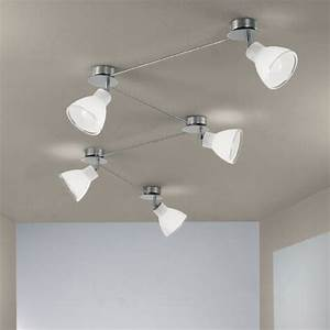 Campana big 5 nichel soffitto/parete Linea light