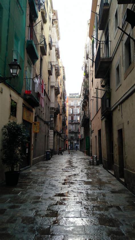 gothic quarter barcelona visions  travel