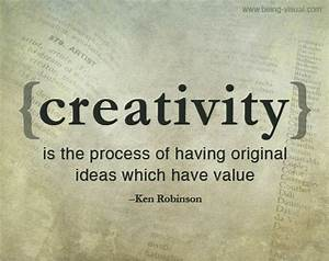 Creativity | Ken Robinson quote | Bette Fetter