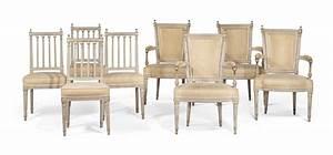 Mobilier De Salon : mobilier de salon d 39 epoque louis xvi dernier quart du ~ Teatrodelosmanantiales.com Idées de Décoration
