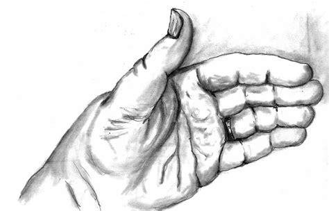 Give Me A Hand Drawing By Kevin Callahan