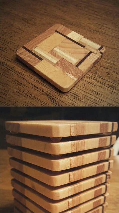 scrap wood coasters woodworking pinterest wood
