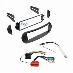 Car Radio Stereo Dash Kit Wiring Harness Antenna For 1998