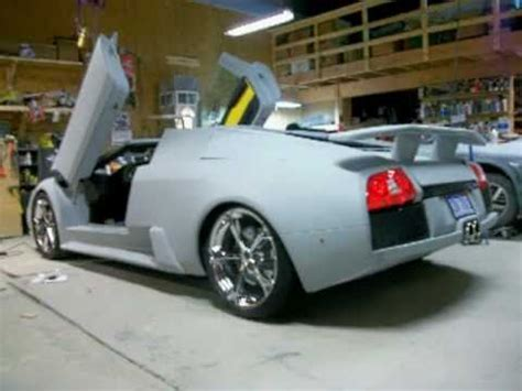 fake lamborghini key lamborghini murcielago replica with interior installed
