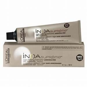 Loreal Hair Color Color Chart Loreal Inoa Supreme Hair Color Age Defying Ammonia Free