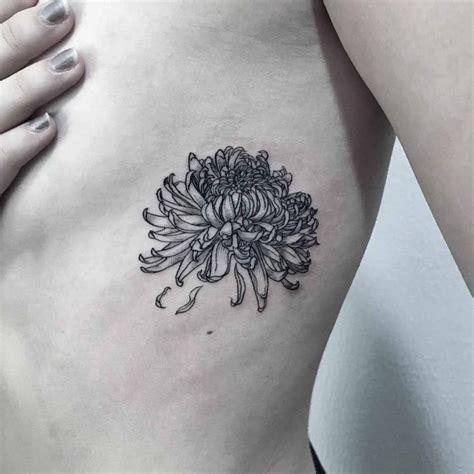 rib flower tattoo  tattoo ideas gallery