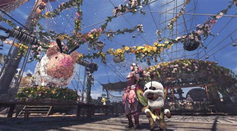 monster hunter world  spring blossom farming trick